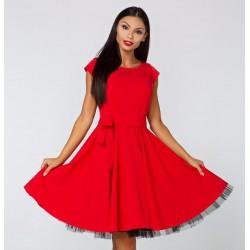 Gotta šaty Silvia červené