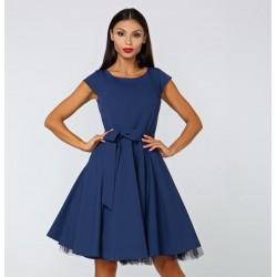 Dámské šaty Roberta tmavě modré