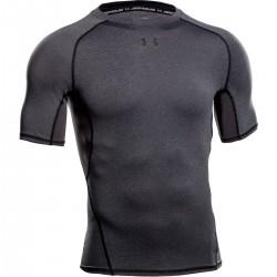 Pánské kompresní tričko Under Armour HG tmavě šedé