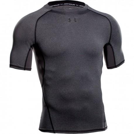 Pánské kompresní tričko Under Armour HG tmavě šedé, Velikost S, Barva Tmavě šedá Under Armour 1257468-090 888284793203