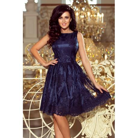 Luxusní šaty s krajkou Monika