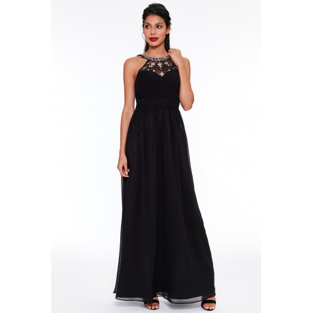 Dámské plesové šaty – černé 6635a35093