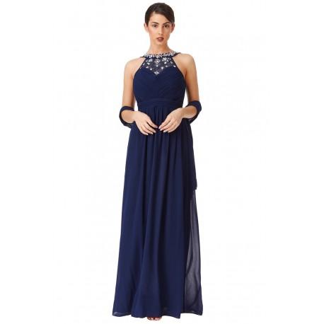 Dámské plesové šaty – modré