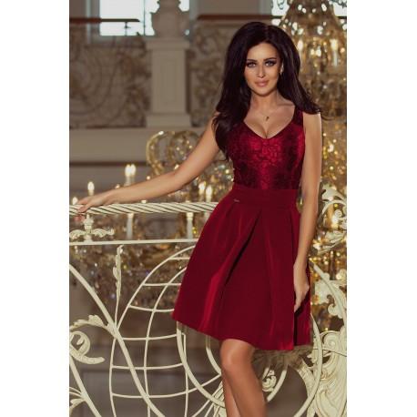Dámské šaty Romantic wine