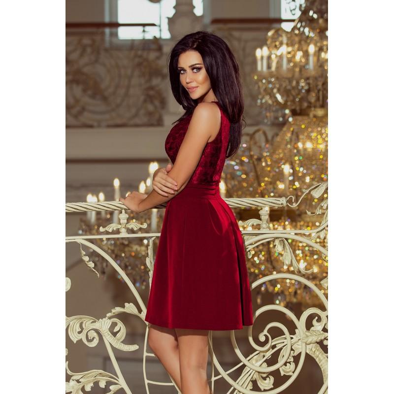 8b3a4b84875 ... Dámské šaty Romantic wine ...