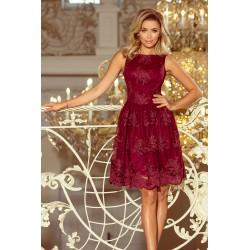 Luxusní šaty s krajkou Monica