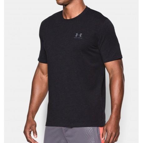 Pánské tričko Under Armour CC Sportstyle Logo tmavě šedé, Velikost L, Barva Tmavě šedá Under Armour 1257616-001 888376043780