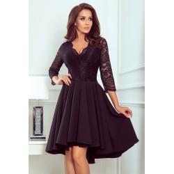 Společenské dámské šaty Elegance černé