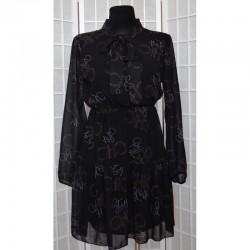 Šifonové šaty CHIC