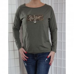 Dámské bavlněné tričko s nápisem