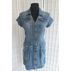 Dámské modré Jeans šaty