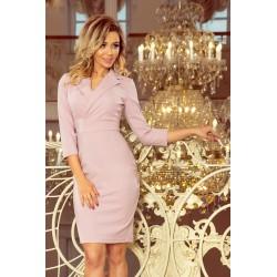 Dámské pudrové šaty Kelly