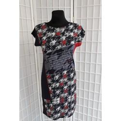 Letní šaty se vzorem