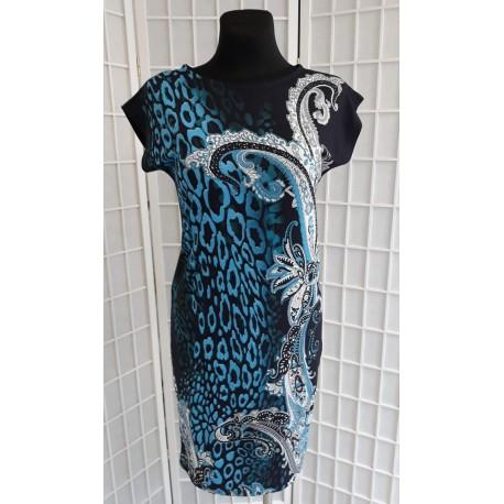 Letní šaty Merry, Velikost 42, Barva Barevná L&S Fashion 1161