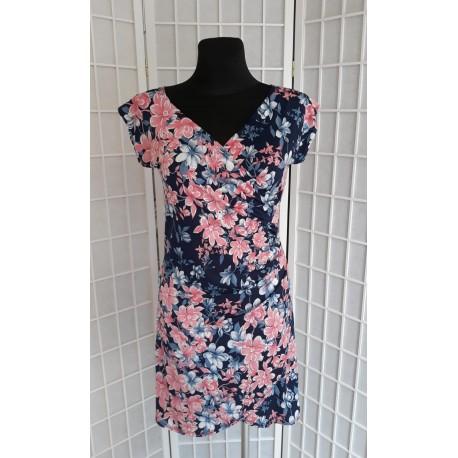 Sofia letní šaty, Velikost L, Barva Barevná L&S Fashion