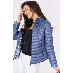 Dámská modrá bunda 2v1