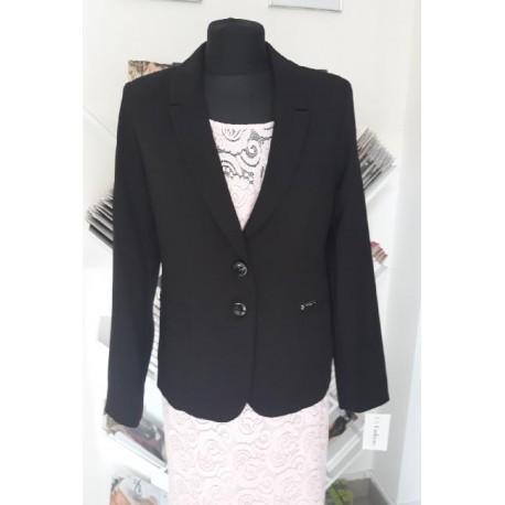 Dámské sako s límečkem černé