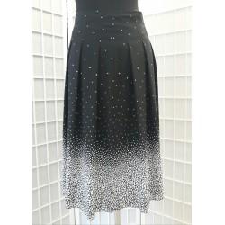 Dámská sukně - střední puntík