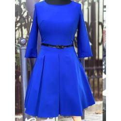 Šaty Gotta s 3/4 rukávem modré