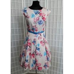Šaty Gotta flowers rose