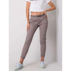 Dámské kalhoty - kapučínové