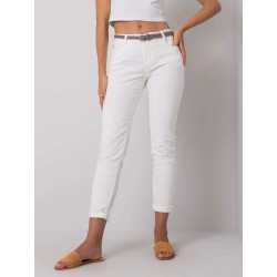 Dámské kalhoty - bílé