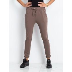 Dámské trendy teplákové kalhoty