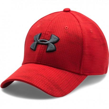 Pánská čepice Under Armour Blitzing Cap červená, Velikost L/XL, Barva Červená Under Armour 1273197-600 190085360318