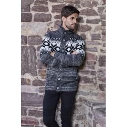 Pánský svetr s norským vzorem 7394
