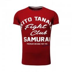 Pánská tričko Akito Tanaka FIGHT CLUB červené