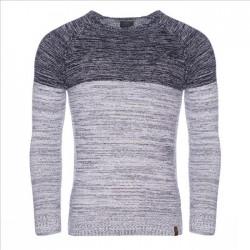 Pánský svetr s kapucí 7396