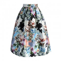 Sukně Chicwish Floral Explosion