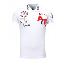 Pánské polo tričko Akito Tanaka 512 bílá