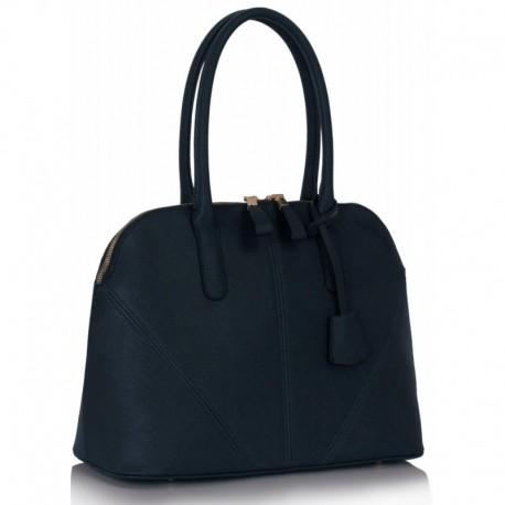 Dámská kabelka Grab modrá, Barva Tmavě modrá L&S Fashion LS331