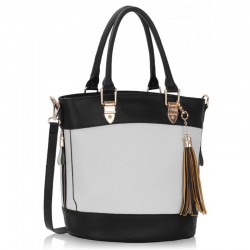 Krásná kabelka Black and White LS321