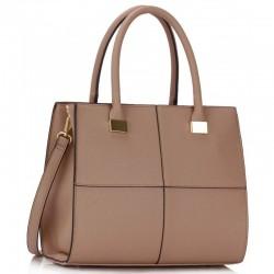 Krásná kabelka LS153M béžová