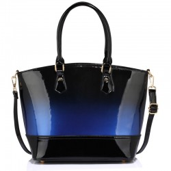 Dámská kabelka Two-Tone modrá
