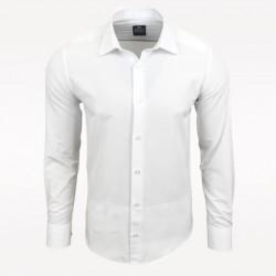 Pánská košile s dlouhým rukávem Rusty Neal bílá